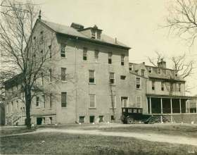 The Middleton House was the main house on the CUA property when it was a slave run plantation. Sold to the U.S. Catholic Bishops after the Civil War, the house served several purposes for the University until it was demolished in 1970.