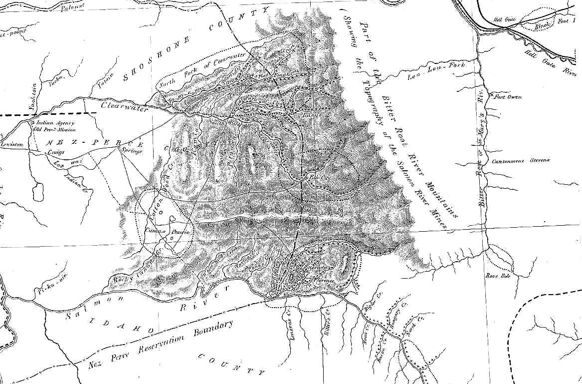 Idaho Rockhounding Maps | Wiring Diagram Database