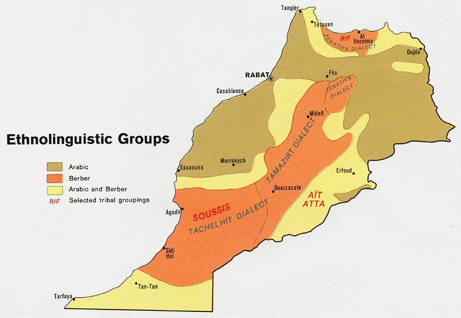 Le Maroc ethnique © University of Austin - Texas