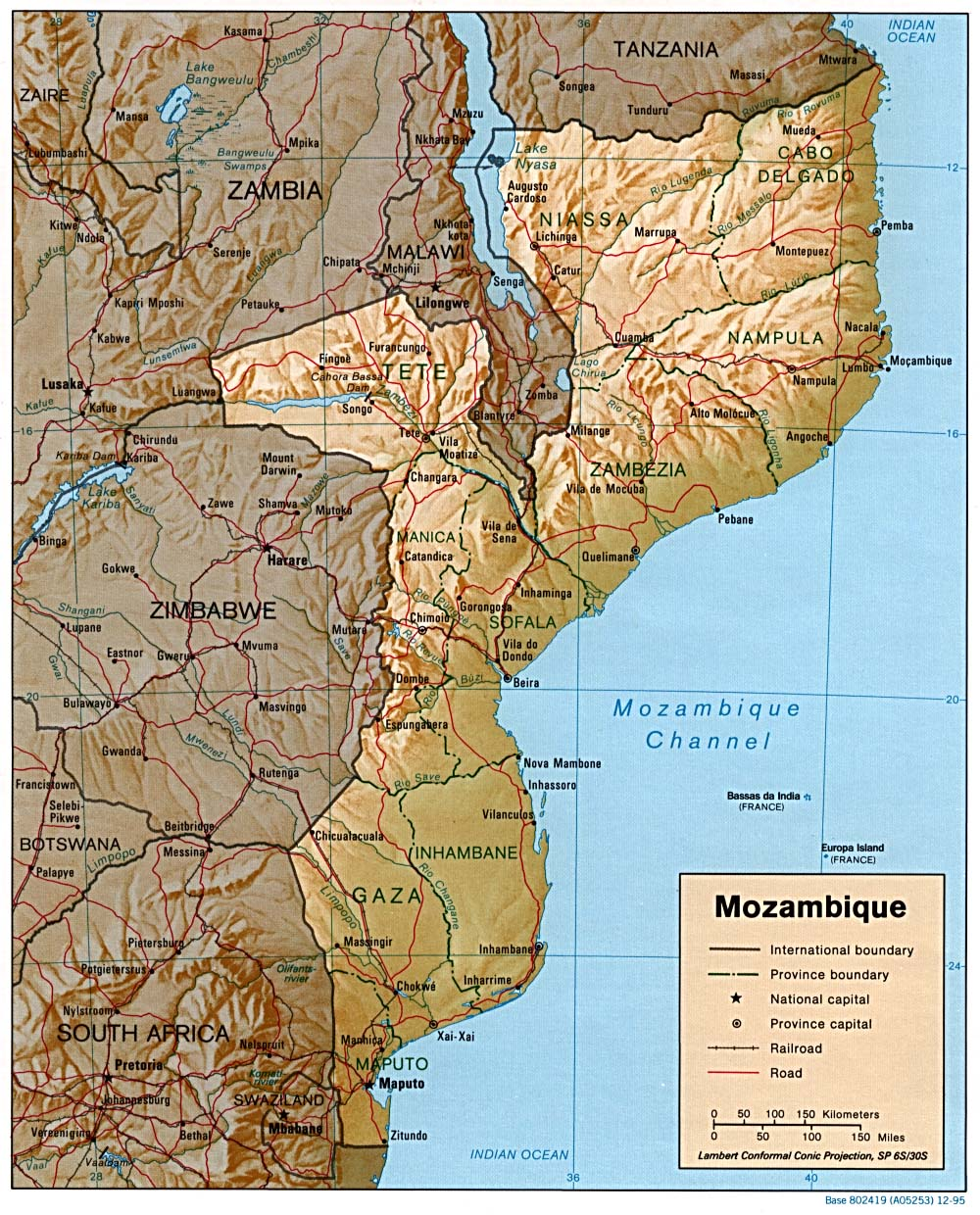 Mozambique here I come