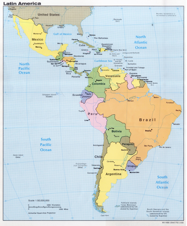 Americas Maps
