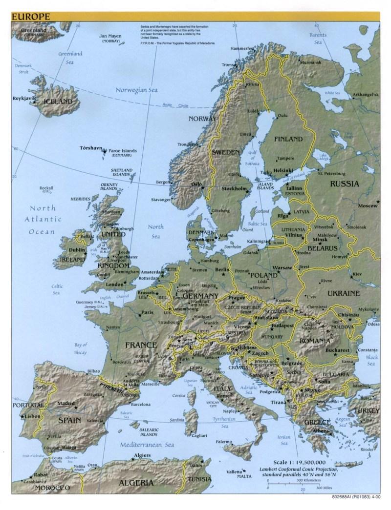 The iron curtain map - The Iron Curtain Map Blogs Us