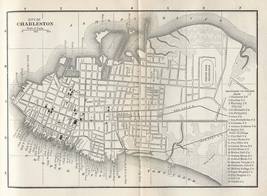 Images About Maps Of Charleston Sc Historical And