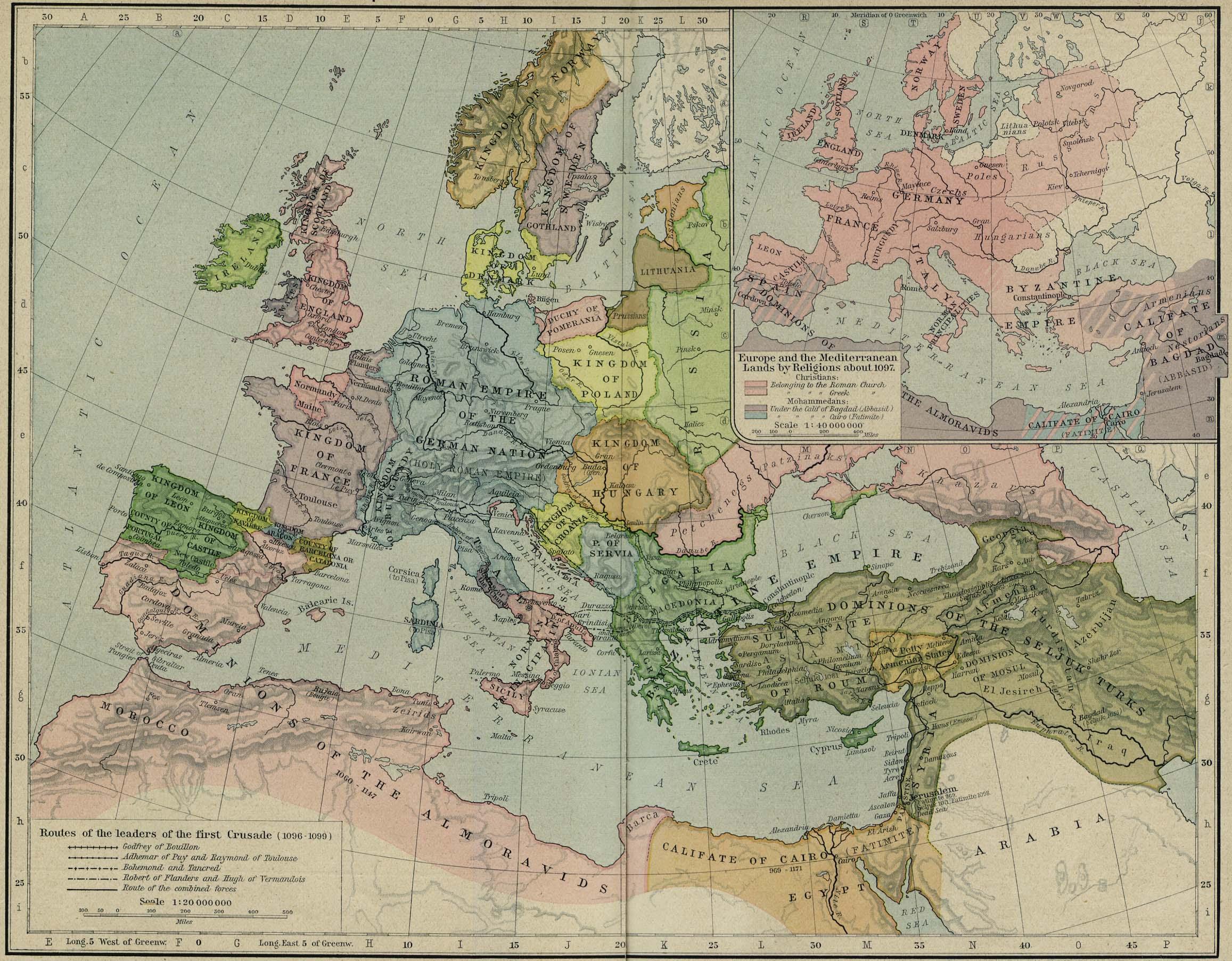 Europe Historical Maps