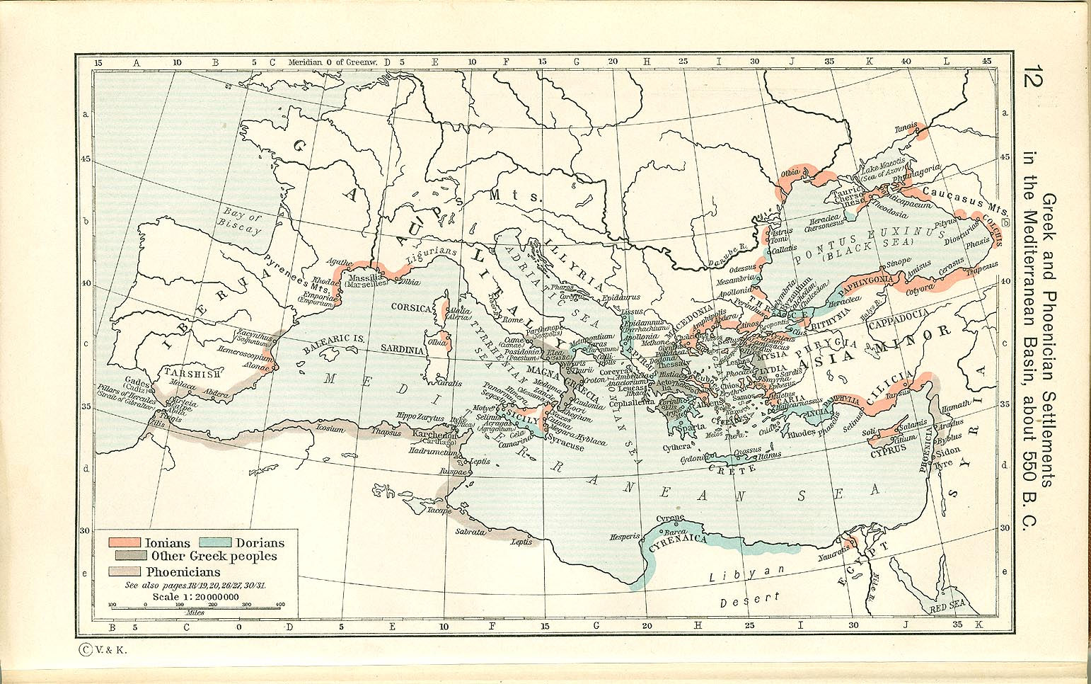 Historical Atlas By William R Shepherd