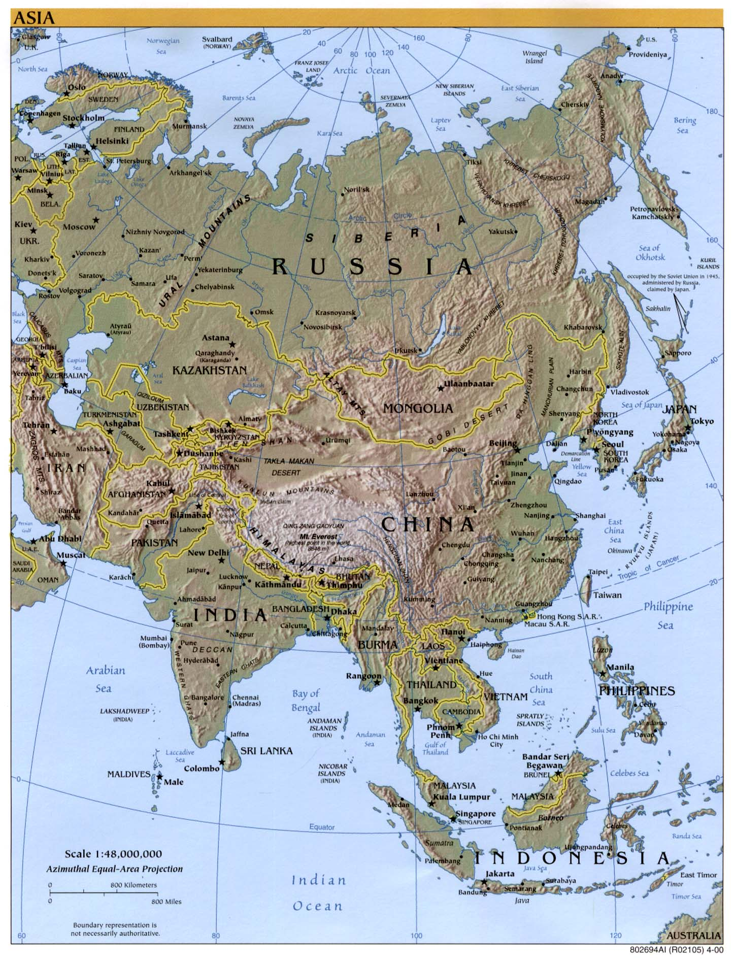 Boundaries New Highlights Zealand Map