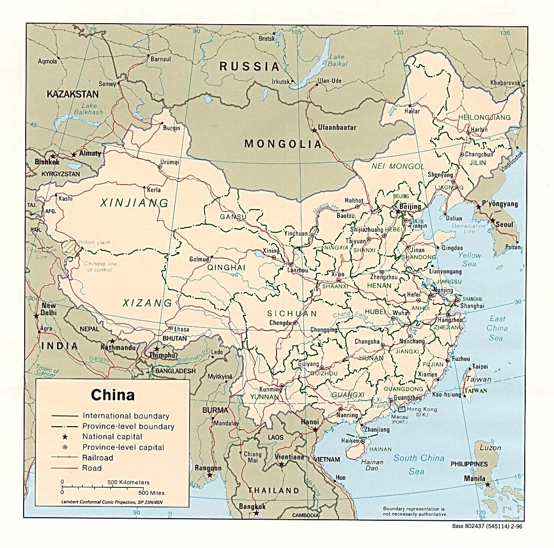 China Maps