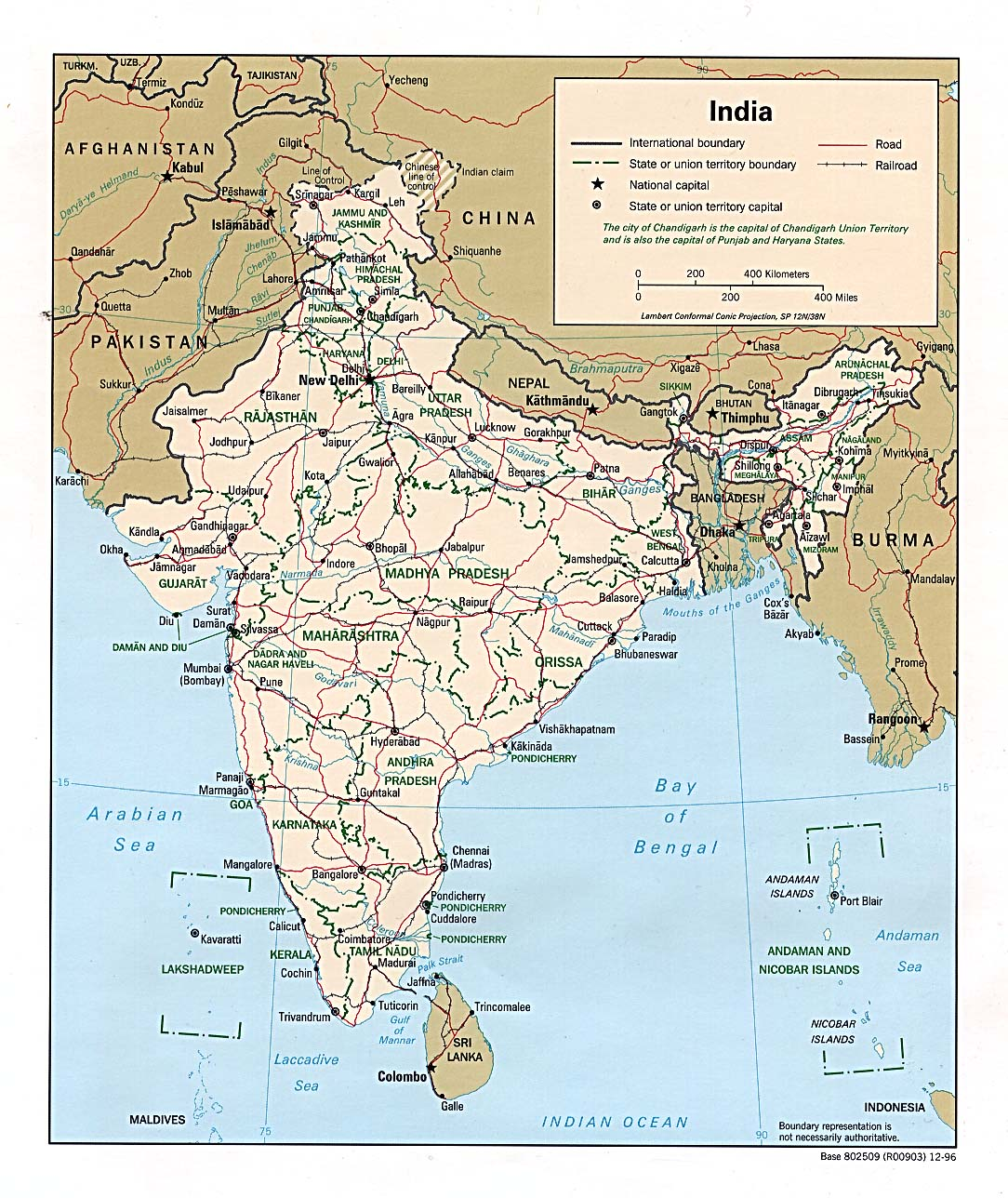 India Facts And Information For Kids