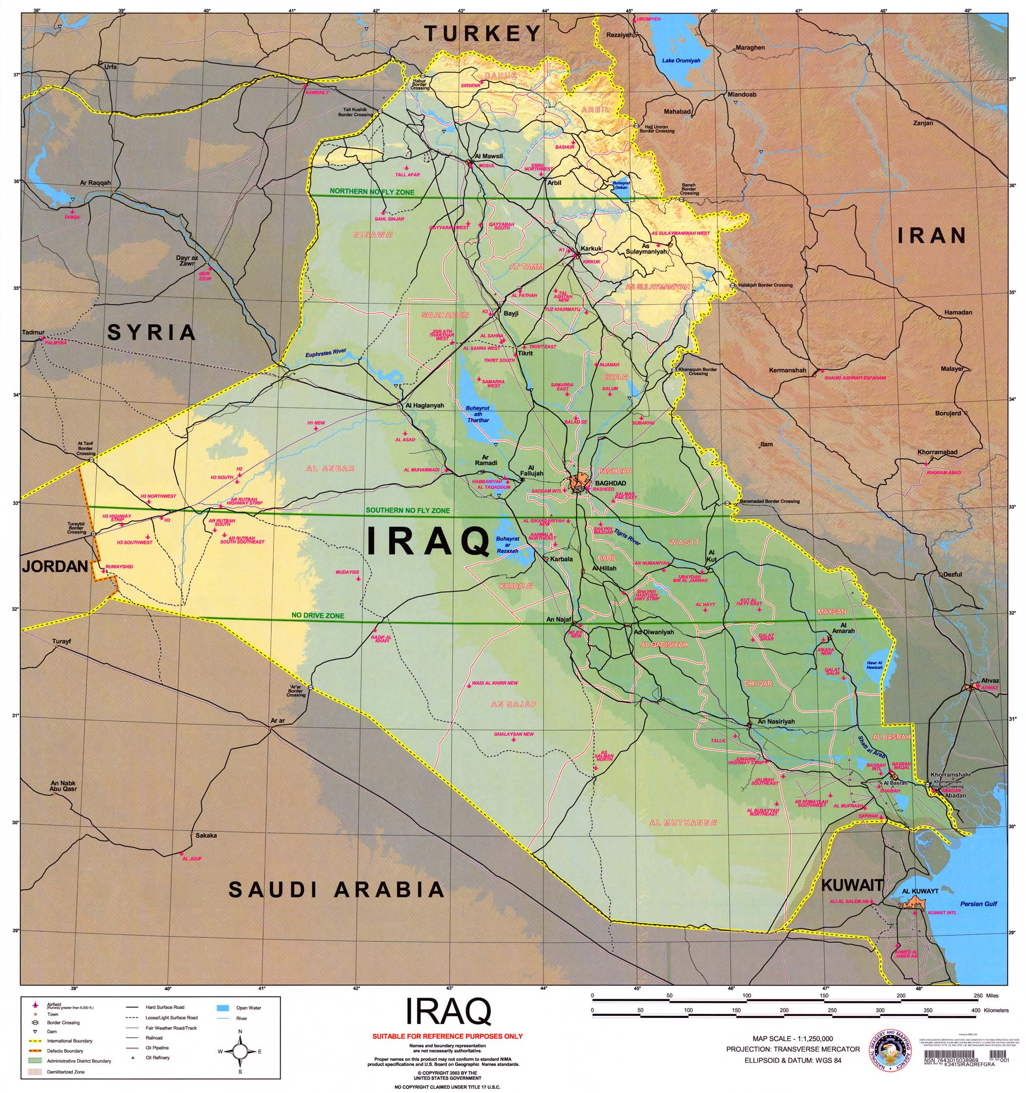 Image result for iraq map