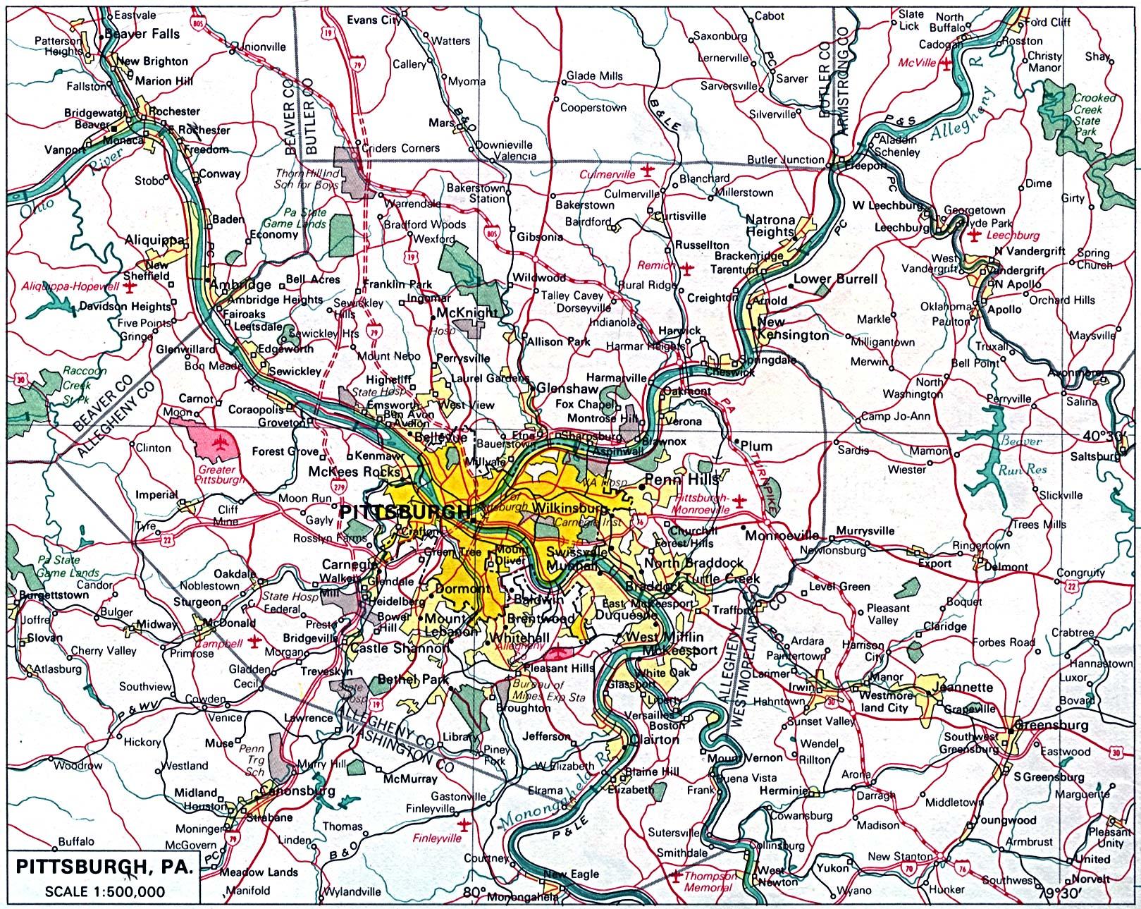 Johnstown Pa Zip Code Map