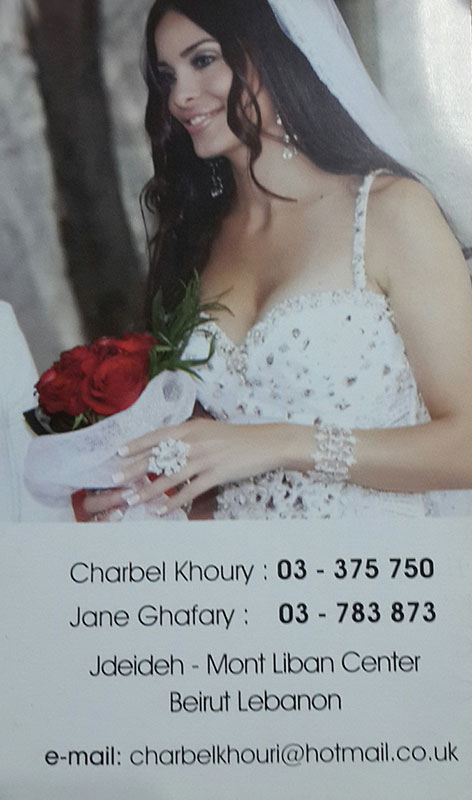 Charbel Khoury Jane Ghafary Beauty Center Hair Stylists Makeup Artist Nail Artists
