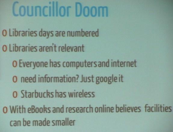 Councillor Doom