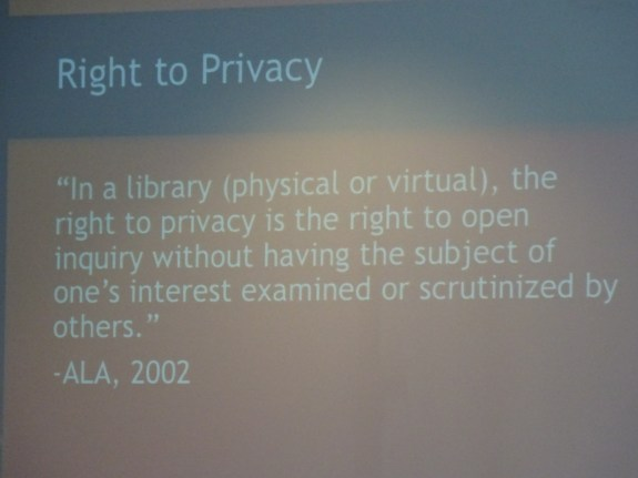ALA Privacy Statement