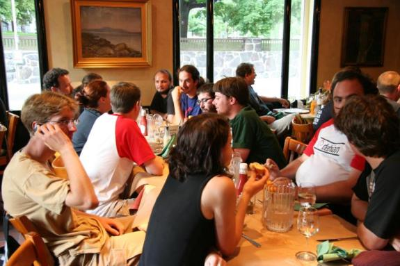 Dinner Party Talk