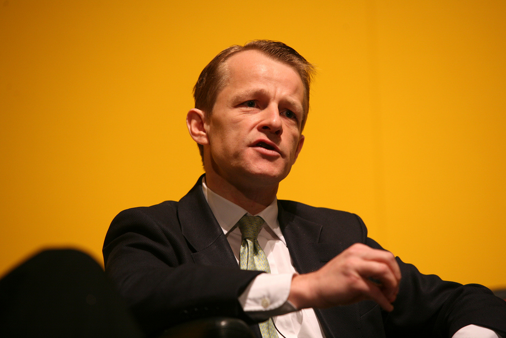 David Laws speaking at Lib Dem Spring conference, Liverpool 2008