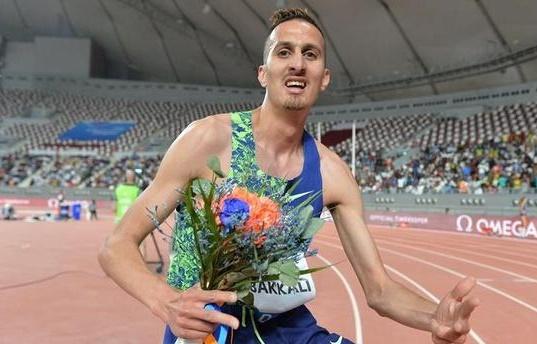 Soufiane El Bakkali remporte le 3000 m steeple à Doha