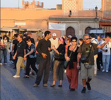 Les arrivées touristiques en hausse de 4,6% à fin mai