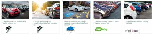 Smart Parking out-of-the-box IoT kits at the IoT Markeplace