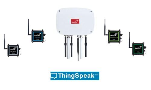 ThingSpeak integrates in Libelium IoT platform