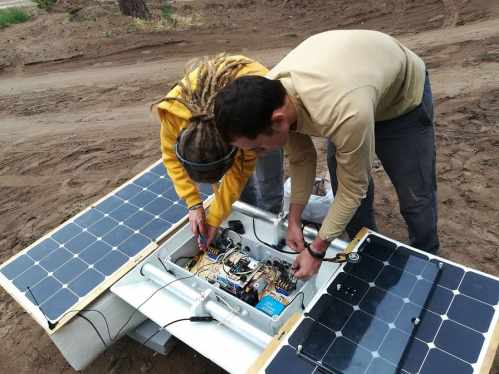 Installing Waspmote Smart Water sensor platform in the drone