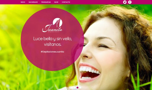 Sitio web depilaciones juanita