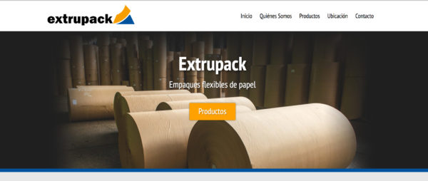 Sitio web extrupack