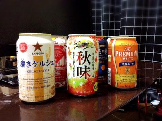 全6種のビールがその頂点を競います!