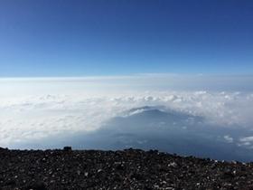 雲海が美しいですね