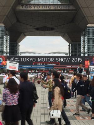 東京モーターショーに来ました