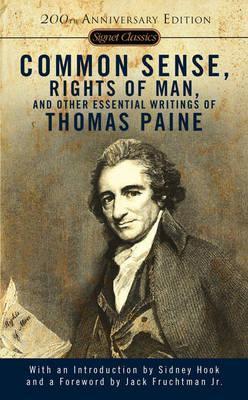 Forsiden på boken Common Sense av Thomas Paine.