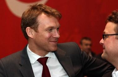 Aslak Eriksrud, kommentator i TV2, på Arbeiderpartiets landsmøte i 2011. Foto: Arbeiderpartiet CC.BY.SA.