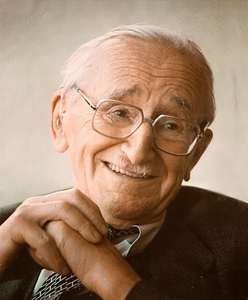 Friedrich Hayek. Foto: Volkswirtschaftliches Institut, Universität Freiburg CC.BY.SA.