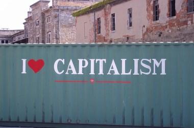 Jeg elsker kapitalisme. Foto: Alessio CC.BY.