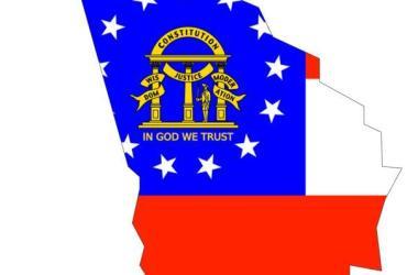Delstaten Georgia. C0.