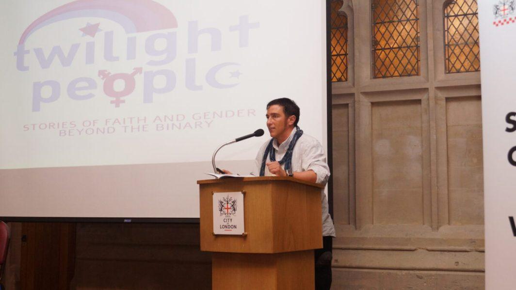 Surat-Shaan Knan at LGBT Police Conference