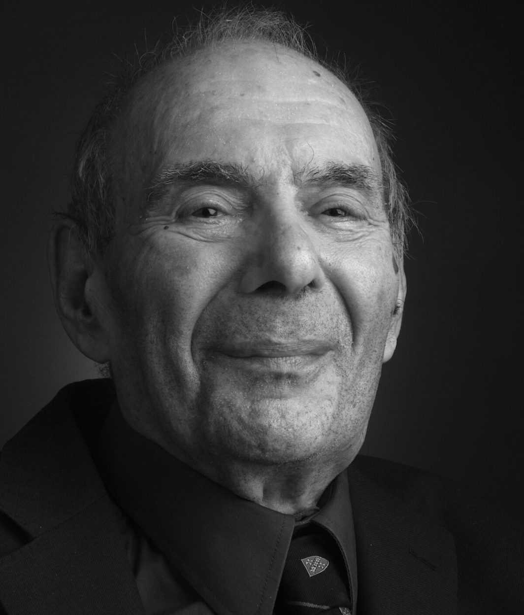 Rabbi Lionel Blue, picture by Ajamu