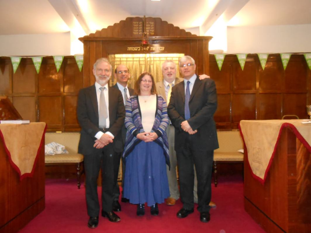 East London & Essex Liberal Synagogue first services