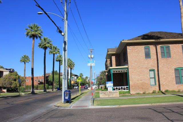 Roosevelt Row, Phoenix.