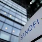 Sanofi building logo