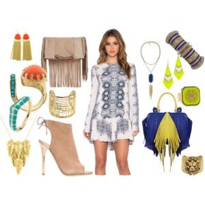 Liberata Dolce Fashion Blogger Free People Bohemian Fall 2015 Polyvore