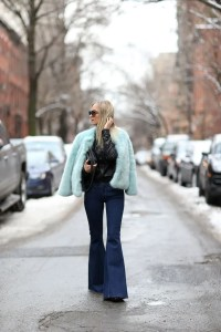 Liberata Dolce Winter Fashion 2015 Rocker Chic 70s disco blogger style fashion free people super flares