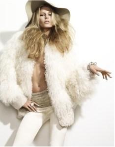 Liberata Dolce Winter Fashion 2015 Rocker Chic 70s disco blogger style fashion shag coat
