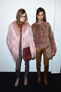 Liberata Dolce Winter Fashion 2015 Rocker Chic 70s shag coats disco blogger style fashion