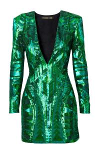 balmain h&m dress sequins liberata dolce all that glitters post fashion blogger blog fall winter 2015