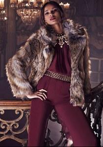 liberata dolce fashion blogger bebe faux fur coat winter trend bohemian glam