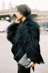 liberata dolce free people faux fur winter fashion january 2016 blog street style chic jade green