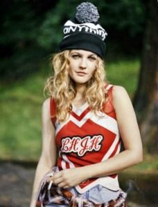 drew barrymore 90s fashion icon grunge flower child trends