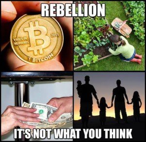 Rebellion it's Not What You Think Bitcoin, Peaceful Parenting, Barter, and Agorism