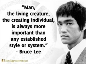 The Creating Individual Is Always More Important Than Any System Bruce Lee quote