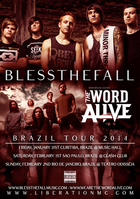 BLESS THE FALL / THE WORD ALIVE EM SP